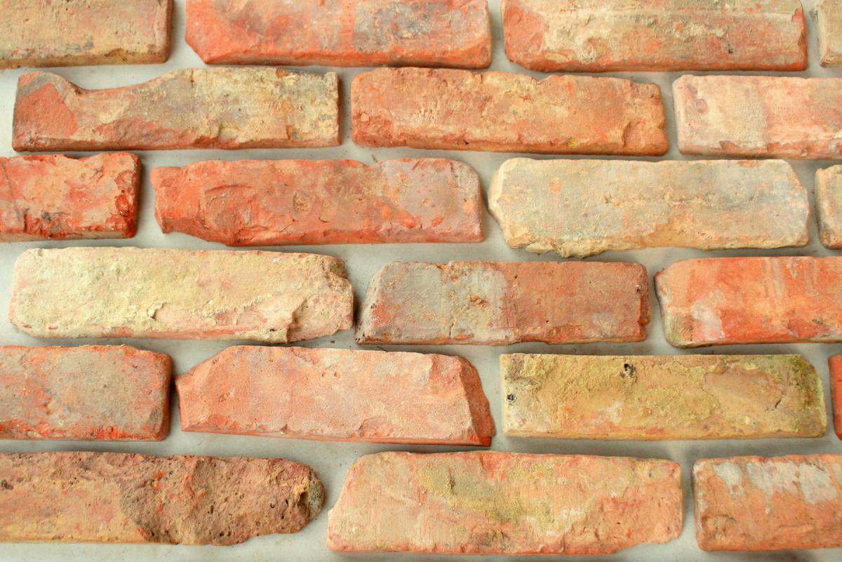 Płytki z lica cegły