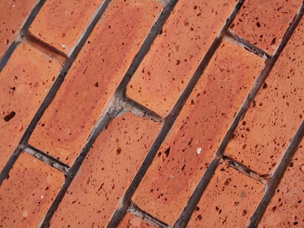 Płytki ze środka cegły