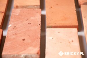 Płytki cięte ze środka cegły