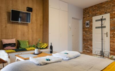 Kolejny apartament Old Town Szczecin zaaranżowany przy pomocy naszych płytek z cegły